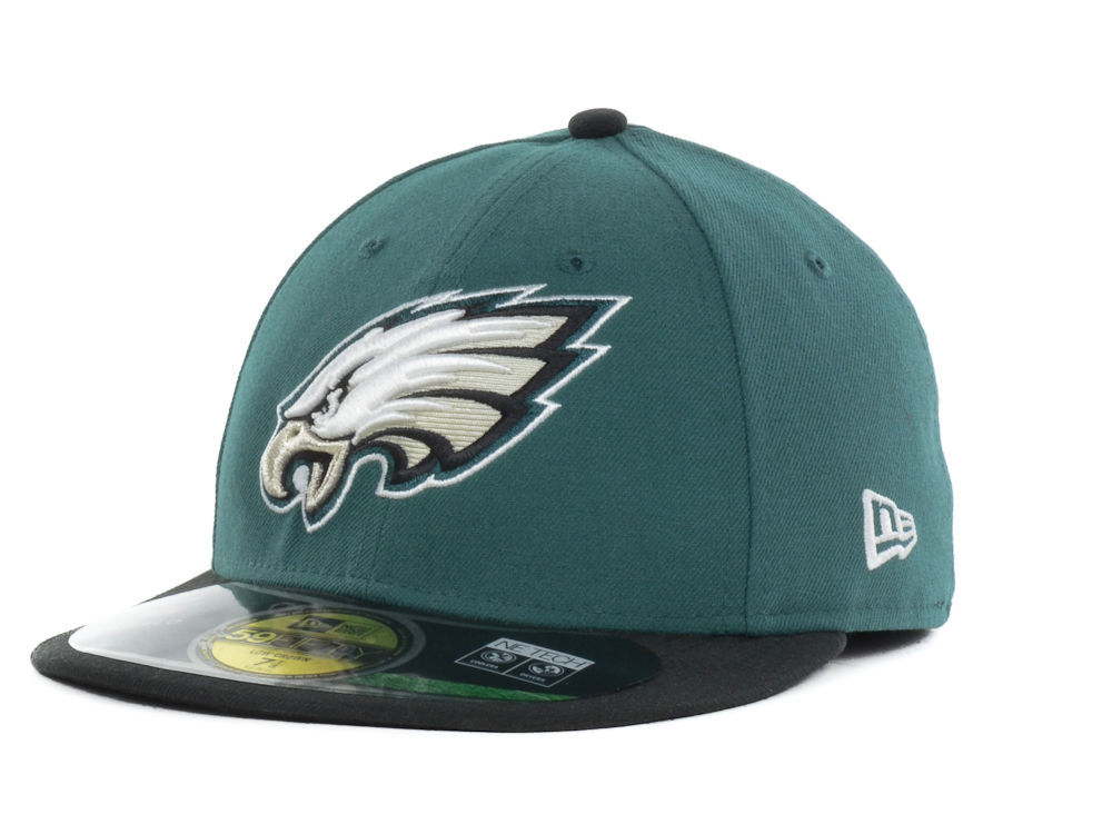 7b51b0e559c Philadelphia Eagles New Era NFL On Field Low Crown 59FIFTY Cap ...