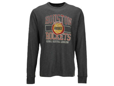 Houston Rockets '47 NBA Logo Scrum Long Sleeve T-Shirt