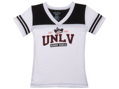 UNLV Runnin Rebels Blue 84 NCAA Youth Girls Bragster T-Shirt