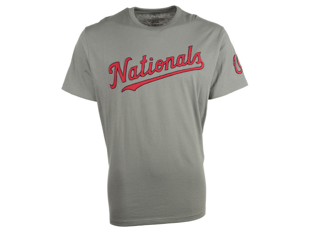 size 40 e3fa8 c1ff2 Washington Nationals  47 MLB Men s Fieldhouse Basic T-Shirt   lids.com