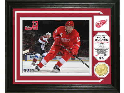 Detroit Red Wings Pavel Datsyuk Photo Mint Coin-Bronze