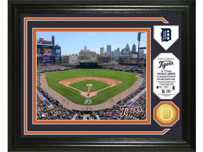 Detroit Tigers Highland Mint Photo Mint Coin-Bronze