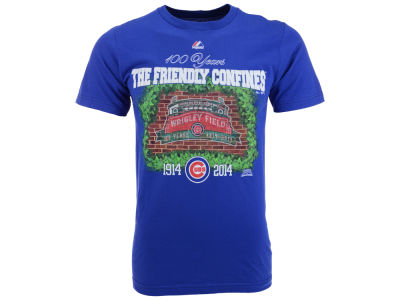 Chicago Cubs MLB Men's Wrigley Faithful TP T-Shirt