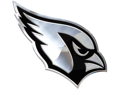 Arizona Cardinals Metal Auto Emblem