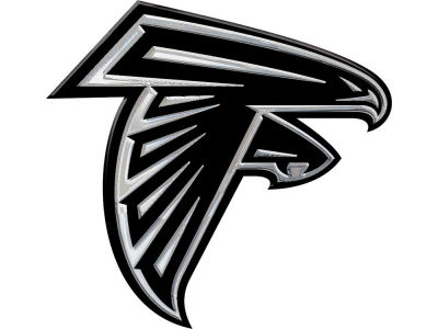 Atlanta Falcons Metal Auto Emblem