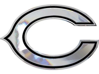 Chicago Bears Metal Auto Emblem