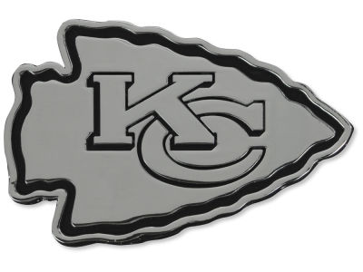 Kansas City Chiefs Metal Auto Emblem