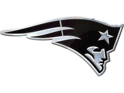New England Patriots Metal Auto Emblem
