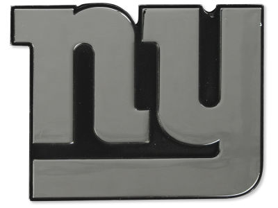 New York Giants Metal Auto Emblem