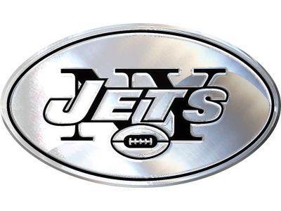 New York Jets Metal Auto Emblem