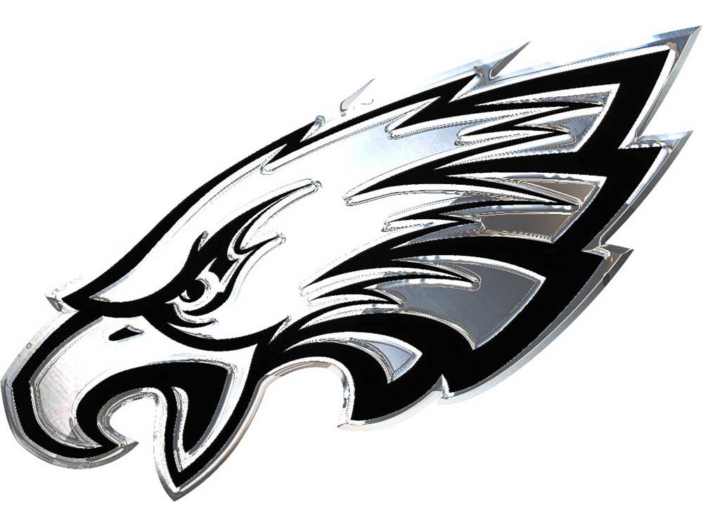 Philadelphia Eagles Stockdale Metal Auto Emblem Lids