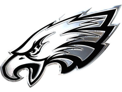 Philadelphia Eagles Metal Auto Emblem