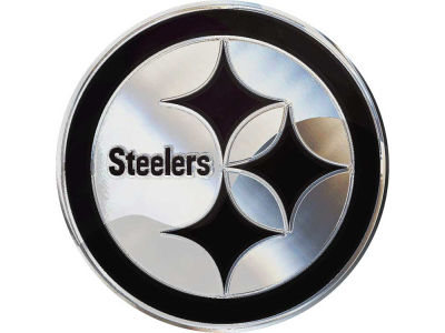 Pittsburgh Steelers Metal Auto Emblem