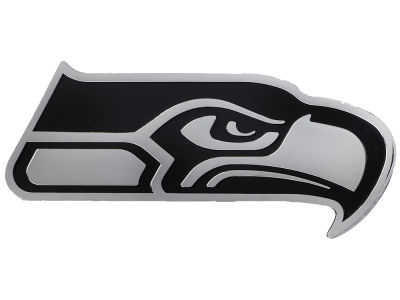 Seattle Seahawks Metal Auto Emblem