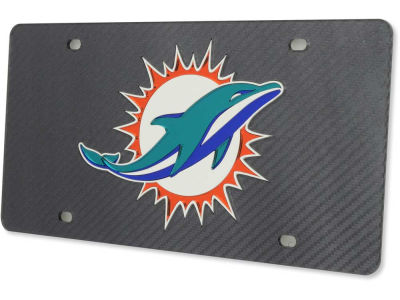 Miami Dolphins Carbon Laser Tag