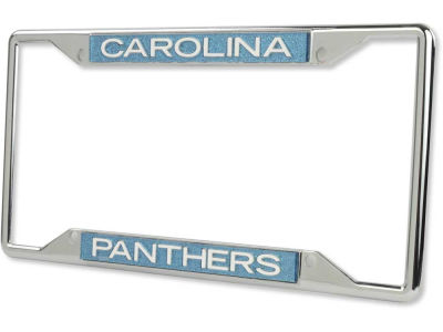 Carolina Panthers Glitter Laser Frame