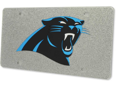 Carolina Panthers Glitter Laser Tag