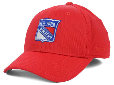 New York Rangers Reebok NHL Hat Trick 2.0 Cap