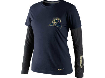Pittsburgh Panthers Nike NCAA Womens Seasonal Long Sleeve T-Shirt