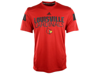 Louisville Cardinals adidas NCAA Sideline Player Crew T-Shirt