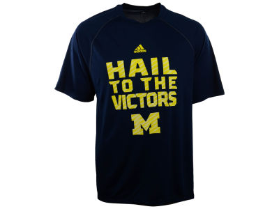 Michigan Wolverines adidas NCAA Sideline Swagger T-Shirt
