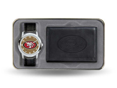 San Francisco 49ers Watch and Wallet Gift Set