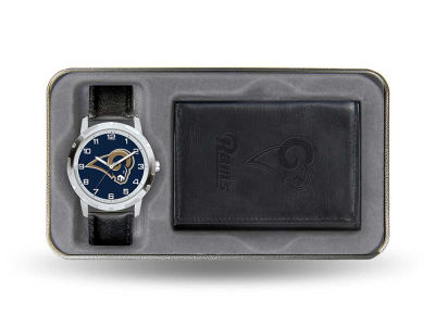 St. Louis Rams Watch and Wallet Gift Set