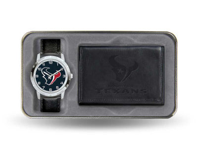 Houston Texans Watch and Wallet Gift Set