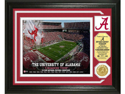 Alabama Crimson Tide Highland Mint Photo Mint Coin-Bronze