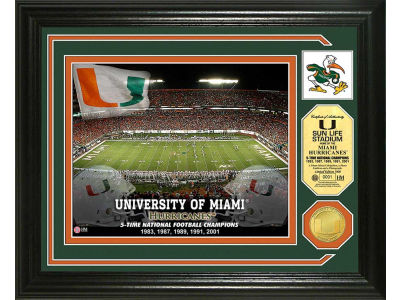 Miami Hurricanes Photo Mint Coin-Bronze