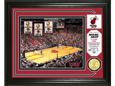 Miami Heat Photo Mint Coin-Bronze