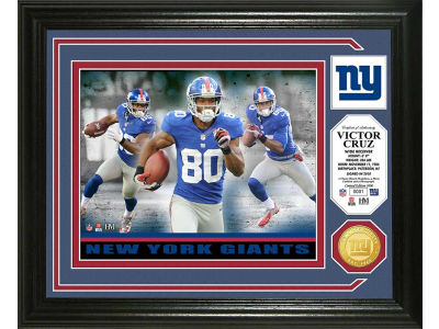 New York Giants Victor Cruz Photo Mint Coin-Bronze