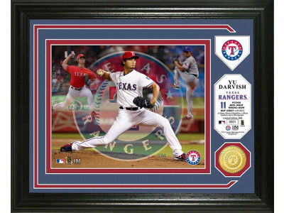 Texas Rangers Yu Darvish Photo Mint Coin-Bronze