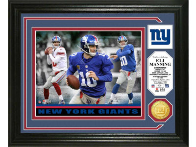 New York Giants Eli Manning Photo Mint Coin-Bronze