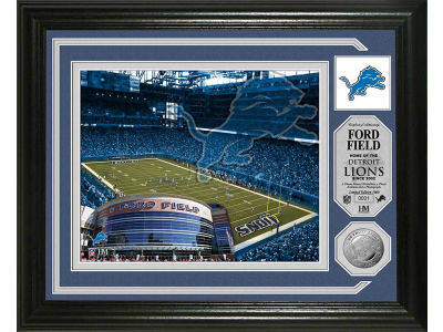 Detroit Lions Photo Mint Coin-Bronze