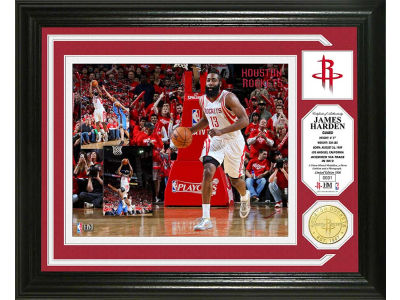 Houston Rockets James Harden Photo Mint Coin-Bronze