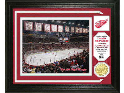 Detroit Red Wings Photo Mint Coin-Bronze