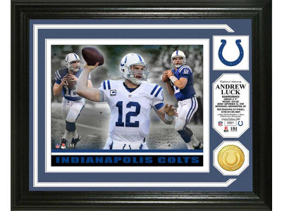 Indianapolis Colts Andrew Luck Photo Mint Coin-Bronze