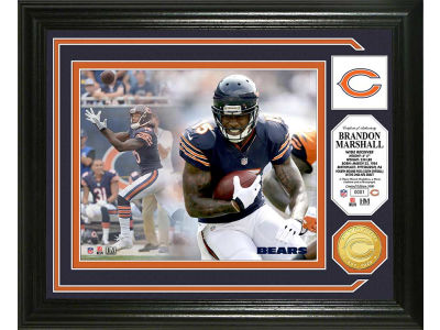 Chicago Bears Brandon Marshall Photo Mint Coin-Bronze