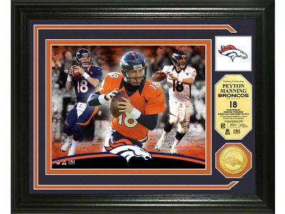 Denver Broncos Peyton Manning Photo Mint Coin-Bronze