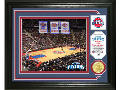 Detroit Pistons Photo Mint Coin-Bronze