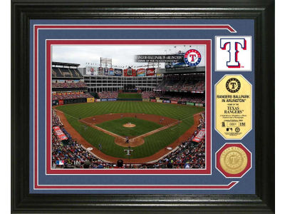 Texas Rangers Highland Mint Photo Mint Coin-Bronze