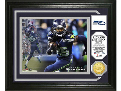 Seattle Seahawks Richard Sherman Photo Mint Coin-Bronze
