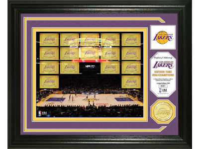 Los Angeles Lakers Photo Mint Coin-Bronze
