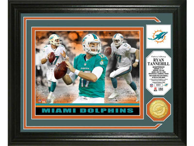 Miami Dolphins Ryan Tannehill Photo Mint Coin-Bronze