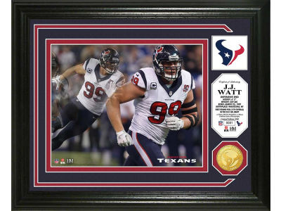 Houston Texans J. J. Watt Photo Mint Coin-Bronze