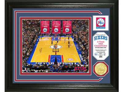 Philadelphia 76ers Photo Mint Coin-Bronze