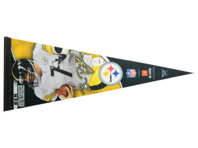 Pittsburgh Steelers Ben Roethlisberger 12x30 Premium Player Pennant