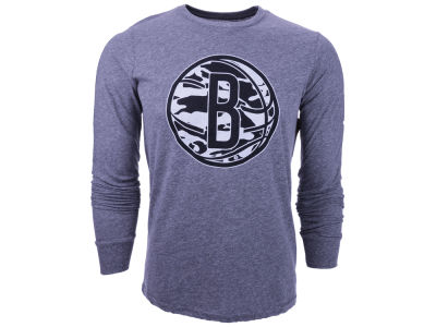 Brooklyn Nets NBA Triblend Long Sleeve T-Shirt