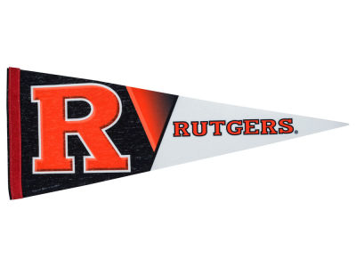 Rutgers Scarlet Knights 12x30in Pennant